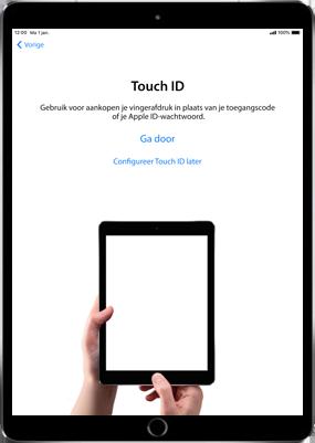 Apple ipad-9-7-inch-6th-generation-model-a1954-ios-12 - Instellingen aanpassen - Hoe gebruik ik de Automatisch inloggen-optie - Stap 11