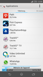Sony Xperia Z3 Compact - Applications - Supprimer une application - Étape 5