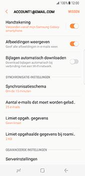 Samsung Galaxy S8 (G950) - E-mail - Instellingen KPNMail controleren - Stap 13