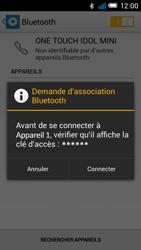 Alcatel OT-6012X Idol Mini - Bluetooth - Jumeler avec un appareil - Étape 7