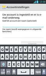 LG P700 Optimus L7 - E-mail - Handmatig instellen - Stap 16