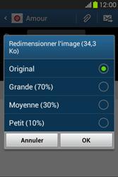 Samsung S6810P Galaxy Fame - E-mail - Envoi d