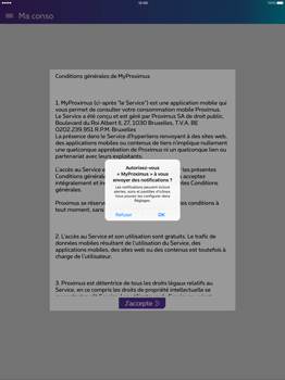 Apple iPad Pro 12.9 (1st gen) - iOS 9 - Applications - MyProximus - Étape 11