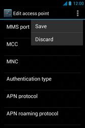 Acer Liquid Z3 - Internet - Manual configuration - Step 17