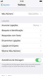 Apple iPhone iOS 11 - Chamadas - Como bloquear chamadas de um número específico - Etapa 5