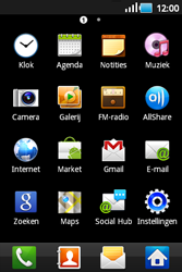 Samsung S5660 Galaxy Gio - Internet - internetten - Stap 2