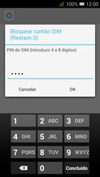 Alcatel Pixi 3 - Segurança - Como ativar o código PIN do cartão de telemóvel -  8