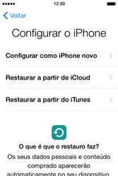 Apple iPhone 4S iOS 8 - Primeiros passos - Como ligar o telemóvel pela primeira vez -  13