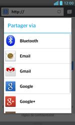 LG Optimus L5 II - Internet et connexion - Naviguer sur internet - Étape 19