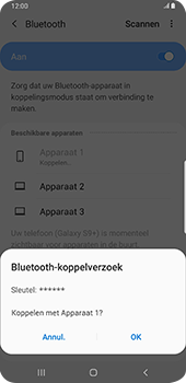 Samsung galaxy-s9-plus-sm-g965f-android-pie - Bluetooth - Headset, carkit verbinding - Stap 8