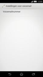 Sony D6503 Xperia Z2 - Voicemail - handmatig instellen - Stap 7