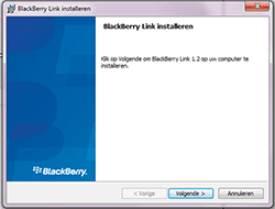 BlackBerry Passport - Software - PC-software installeren - Stap 3