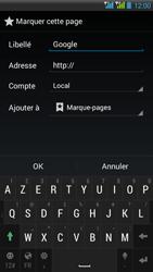HTC Desire 516 - Internet - Navigation sur Internet - Étape 7