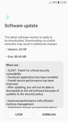 Samsung A510F Galaxy A5 (2016) - Android Nougat - Device - Software update - Step 8