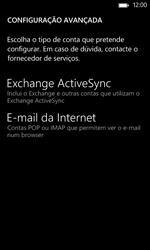 Nokia Lumia 625 - Email - Configurar a conta de Email -  11