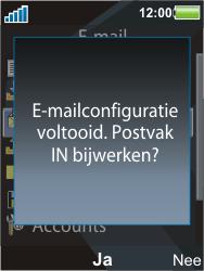 Sony Ericsson C903 - E-mail - Handmatig instellen - Stap 12