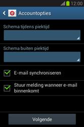 Samsung Galaxy Fame Lite (S6790) - E-mail - Account instellen (IMAP met SMTP-verificatie) - Stap 20