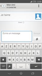 Sony Xpéria Z3 - Contact, Appels, SMS/MMS - Envoyer un SMS - Étape 9