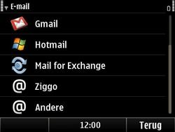 Nokia E6-00 - E-mail - Handmatig instellen - Stap 6
