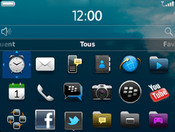 BlackBerry 9320 - Applications - Personnaliser l