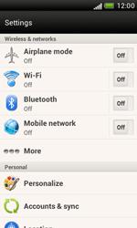 HTC T328e Desire X - Network - Usage across the border - Step 4