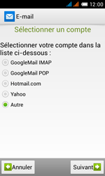 Alcatel OT-4033X Pop C3 - E-mail - Configuration manuelle - Étape 8