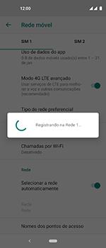 Motorola One Vision - Rede móvel - Como selecionar o tipo de rede adequada - Etapa 13