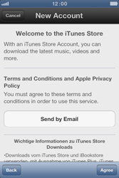 Apple iPhone 4 S - Applications - Create an account - Step 6