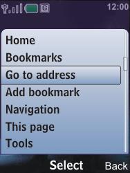 Nokia 6600i slide - Internet - Internet browsing - Step 13