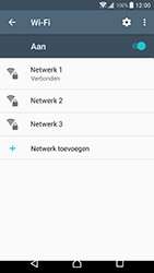 Sony Xperia XZ Premium (G8141) - WiFi - Verbinden met een netwerk - Stap 8