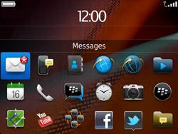 BlackBerry 9900 Bold Touch - Paramètres - Reçus par SMS - Étape 9