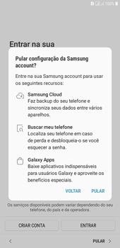 Samsung J4+ - Primeiros passos - Como ativar seu aparelho - Etapa 18