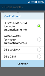 Samsung Galaxy Core Prime - Red - Seleccionar el tipo de red - Paso 7