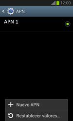 Samsung i8260 Galaxy Core - Mensajería - Configurar el equipo para mensajes multimedia - Paso 8