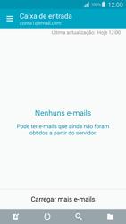 Samsung Galaxy S4 LTE - Email - Configurar a conta de Email -  19
