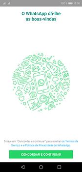 Huawei P20 - Aplicações - Como configurar o WhatsApp -  5