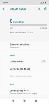 Motorola Moto G7 - Rede móvel - Como ativar e desativar uma rede de dados - Etapa 8
