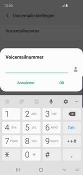 Samsung galaxy-s10e-dual-sim-sm-g970f - Voicemail - Handmatig instellen - Stap 12