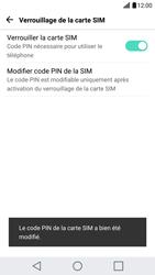LG G5 - Sécuriser votre mobile - Personnaliser le code PIN de votre carte SIM - Étape 13