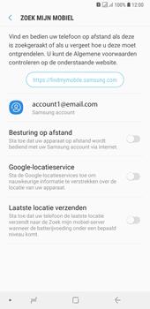 Samsung Galaxy A7 (2018) - Toestel - stel Zoek mijn mobiel in - Stap 6