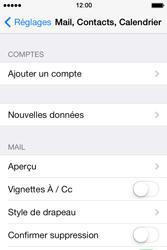 Apple iPhone 4 - E-mails - Ajouter ou modifier un compte e-mail - Étape 4