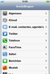 Apple iPhone 4 - E-mail - Handmatig instellen - Stap 3