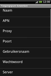 HTC A6262 Hero - Internet - buitenland - Stap 8