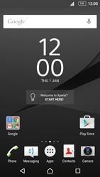Sony Sony Xperia Z5 (E6653) - Applications - Create an account - Step 1