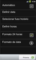 Samsung I9100 Galaxy S II - Primeiros passos - Como ativar seu aparelho - Etapa 8