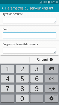Samsung N910F Galaxy Note 4 - E-mail - Configuration manuelle - Étape 10