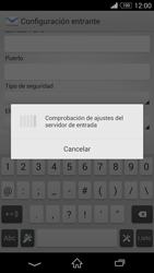Sony Xperia Z3 - E-mail - Configurar correo electrónico - Paso 11