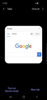 Samsung Galaxy S10e - Internet - Internet browsing - Step 17
