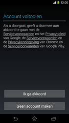 Sony D2303 Xperia M2 - Applicaties - Account aanmaken - Stap 15
