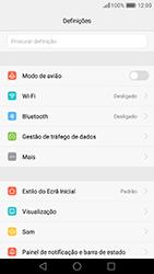 Huawei P9 - Internet no telemóvel - Como ativar os dados móveis -  4